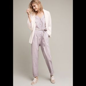 Anthropologie Achiever Saturday Sunday Jumpsuit